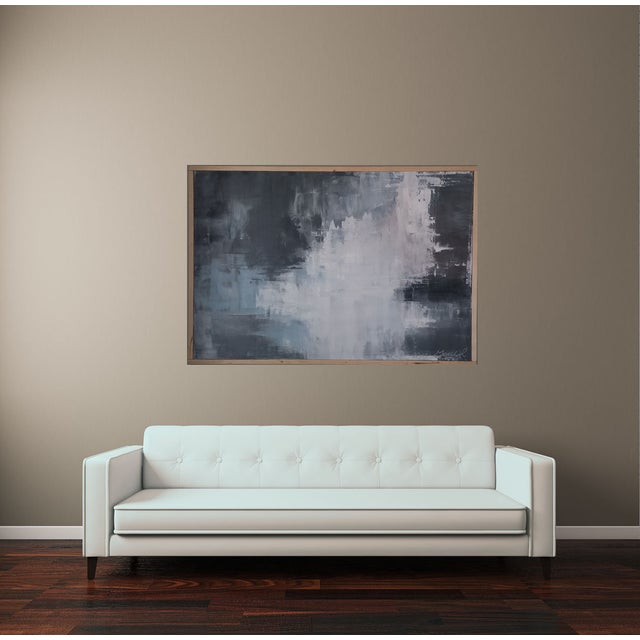 """Slate"" Framed Abstract Art by Kris Gould - Image 4 of 5"