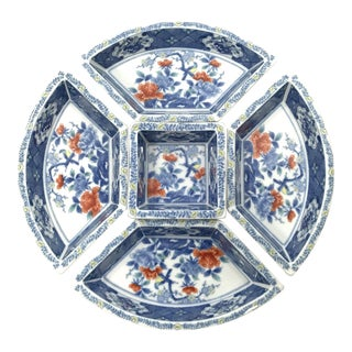 Chinoiserie Hors d'Oeuvres Serving Set