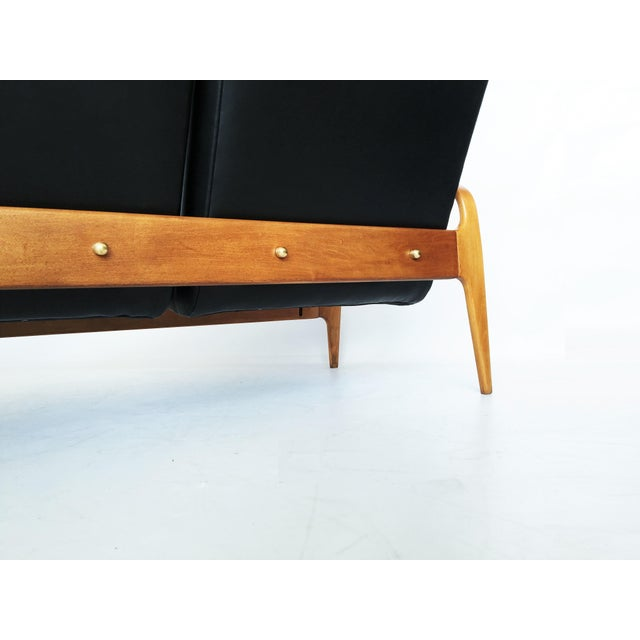 Pair of Modernist Thonet Bentwood Sofas For Sale - Image 4 of 13