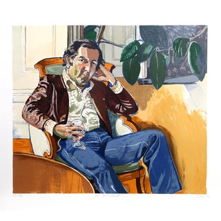 """Alice Neel, """"The Accountant (Marvin)"""", Portrait For Sale"""