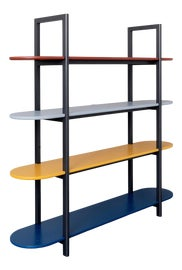 Image of Yellow Shelving