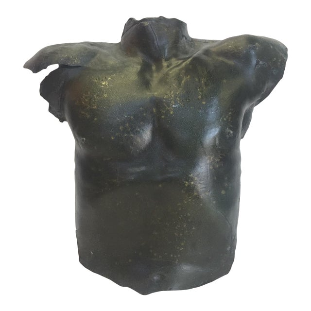 Wall Sconce of Sexy Male Torso For Sale