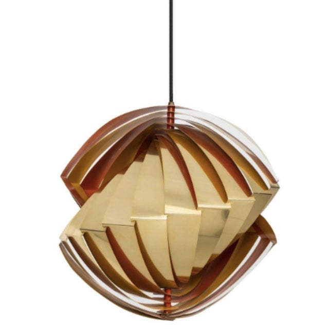 Model Konkyle Ceiling Lamp by Louis Weisedorf - Image 1 of 2