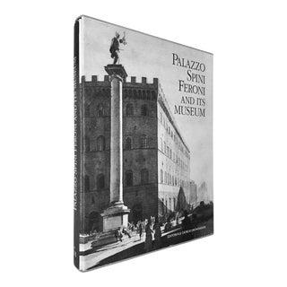 """Late 20th Century Folio Book """"Palazzo Spini Feroni and Its Museum"""" Signed by Fiamma Ferragamo For Sale"""
