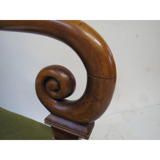 Director Chair With Curved Arms For Sale - Image 10 of 10
