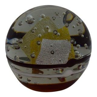 Large Art Glass Sculpture by Robert L. Hamon For Sale