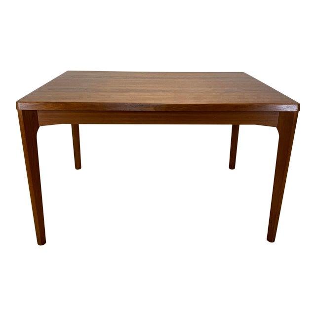 1960s Danish Modern Henning Kaerjnulf for Vejle Stole + Møbelfabrik Teak Dining Table For Sale