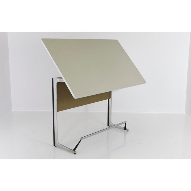 Rare Herman Miller Action Office Standing Desk and Drawing Table, 1960s For Sale - Image 12 of 12