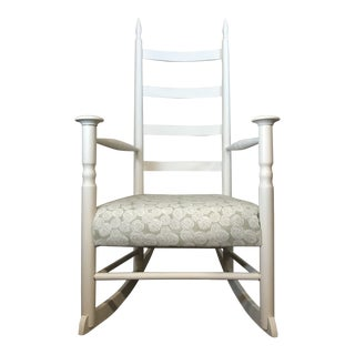 White Shaker Rocking Chair For Sale