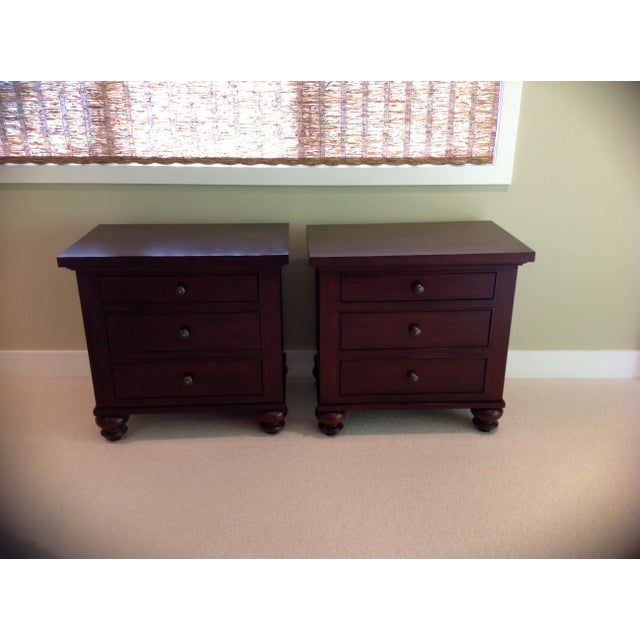 Restoration Hardware Camden Style Nightstands - A Pair - Image 2 of 6