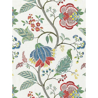 Sample, Scalamandre Palampore Embroidery, Bloom For Sale