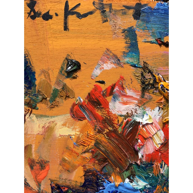 Sean Kratzert 'Flight of the Bumblebee' Abstract Oil Painting by Sean Kratzert For Sale - Image 4 of 5