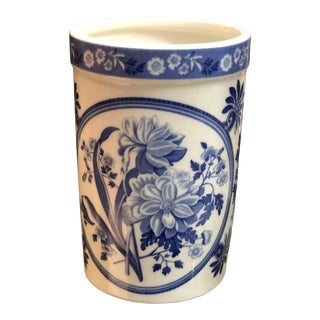 Spode England Blue&White Vase For Sale