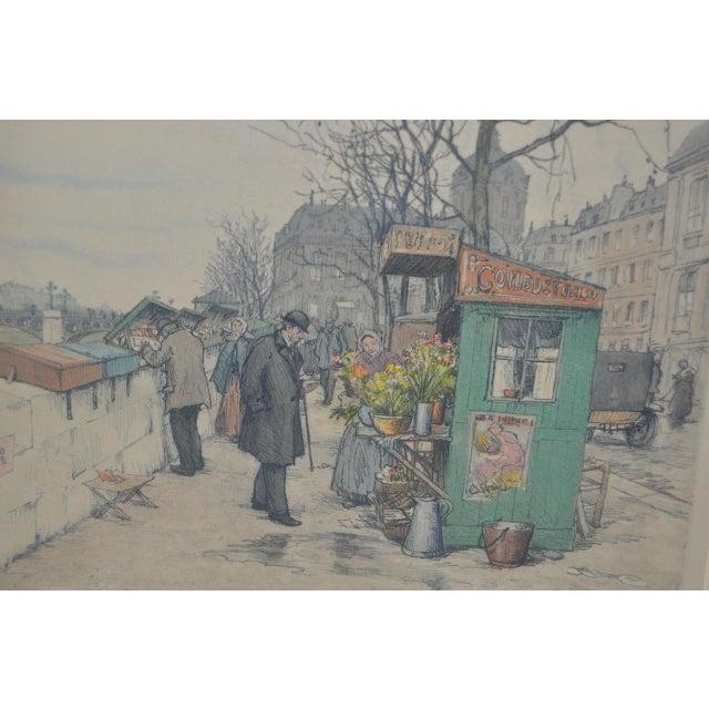 Czech Artist t.f. Simon Color Lithograph C.1920 For Sale - Image 4 of 7