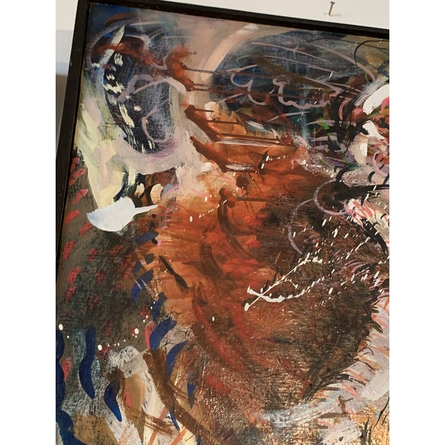 Large Abstract Expressionist Painting For Sale - Image 4 of 5