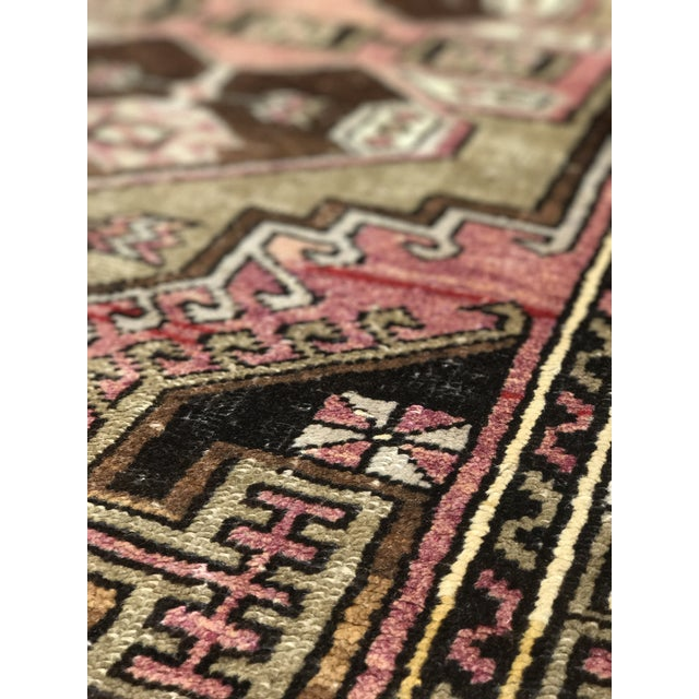 """Bellwether Rugs Distressed Look Vintage Turkish Oushak - 2'11""""x4'7"""" - Image 7 of 11"""