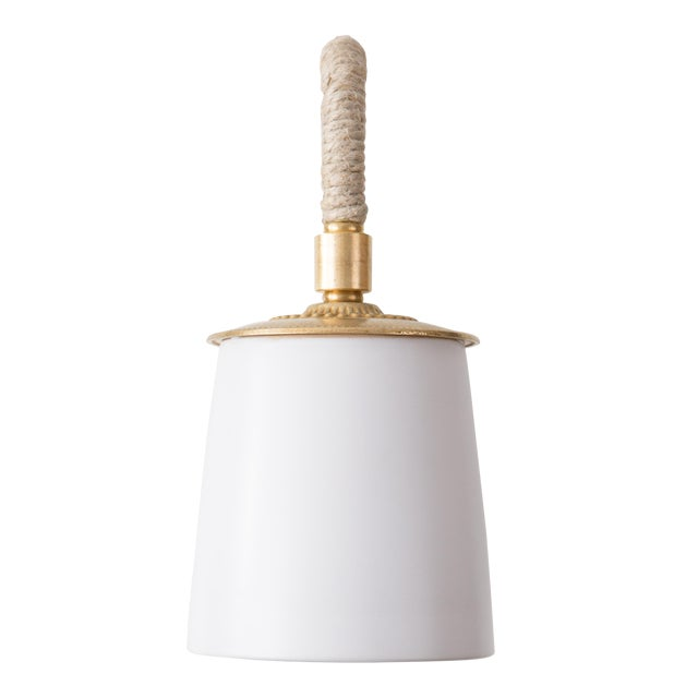 Katy Wall Sconce - White For Sale