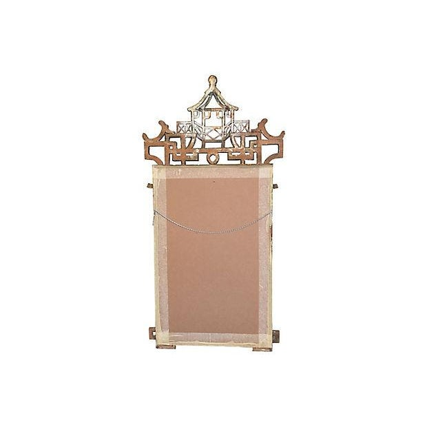 Faux-Bamboo Gilt Mirror For Sale - Image 7 of 7