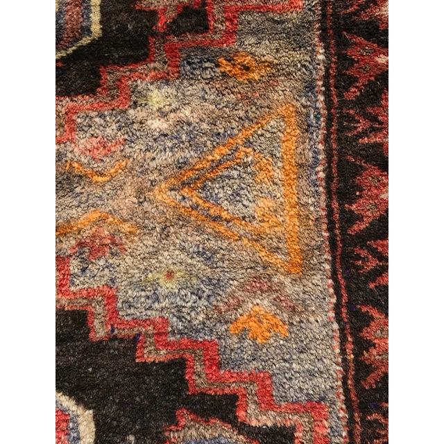 Vintage Persian Hamadan Rug - 2′1″ × 4′9″ - Image 6 of 9