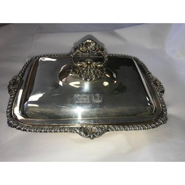 George III Sheffield Silver Plate Cheese Warmer - Image 4 of 8