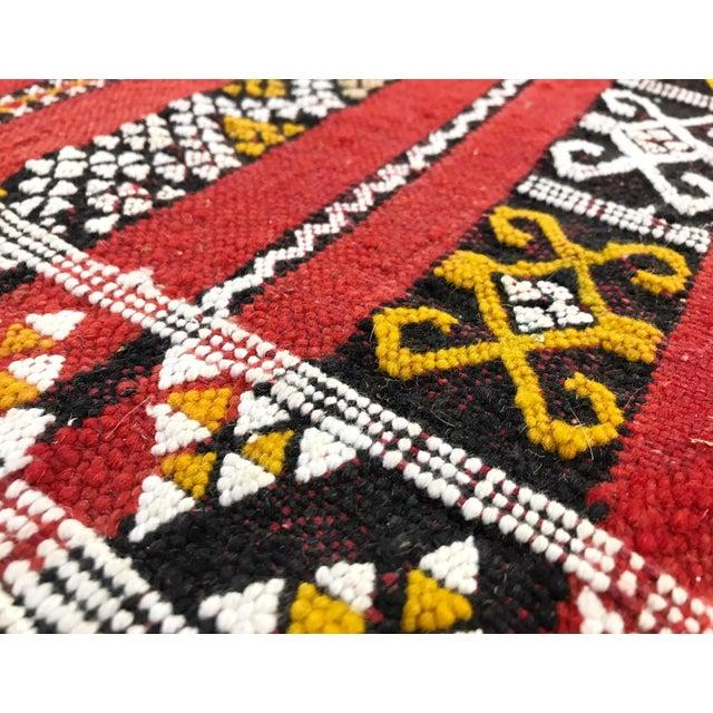 Moroccan Handmade Kilim Rug - 7′6″ × 11′6″ - Image 8 of 11