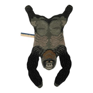 Doing Goods Groovy Gorilla Rug Small For Sale