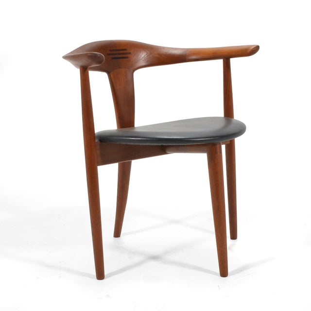 Rosewood Erik Andersen and Palle Pedersen Pair of Rare Easy Chairs For Sale - Image 7 of 12