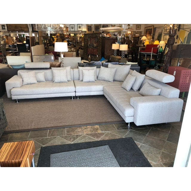 Design Plus Gallery presents beautiful Left Seated sectional from Scandinavian Designs. The Cepella, in light brown/ivory...