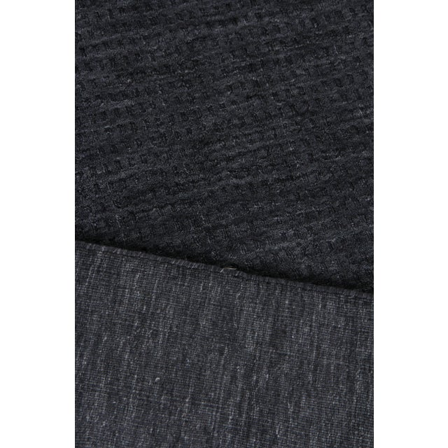 2020s Exquisite Rugs Worcester Handwoven Wool Charcoal - 10'x14' For Sale - Image 5 of 6