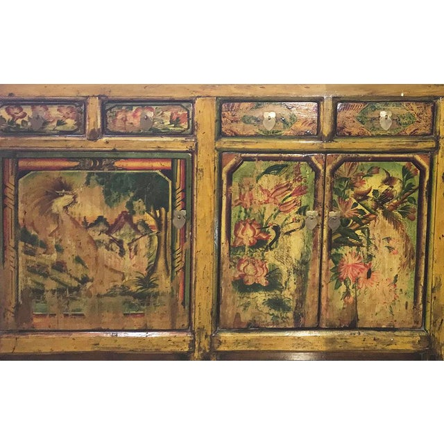 """This early 20th-century Mongolian style cabinet originates from the Shanxi province in China known as """"West of the..."""