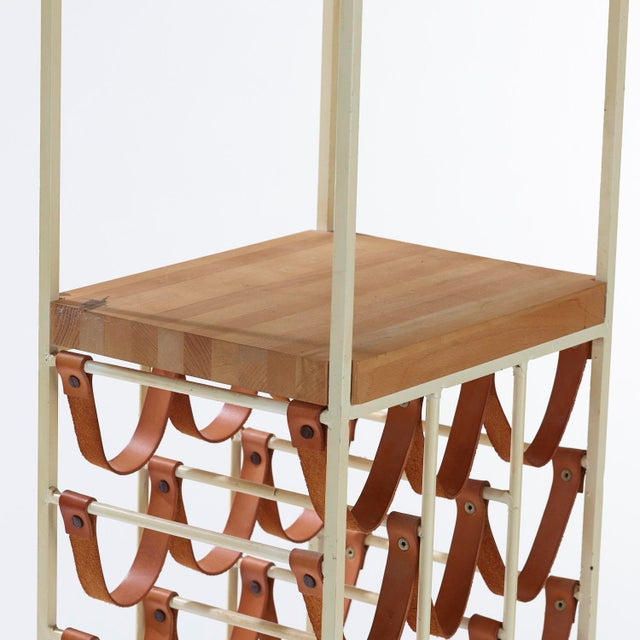 1950s 1950s Vintage Arthur Umanoff for Shaver Howard and Raymor Wine Rack For Sale - Image 5 of 7
