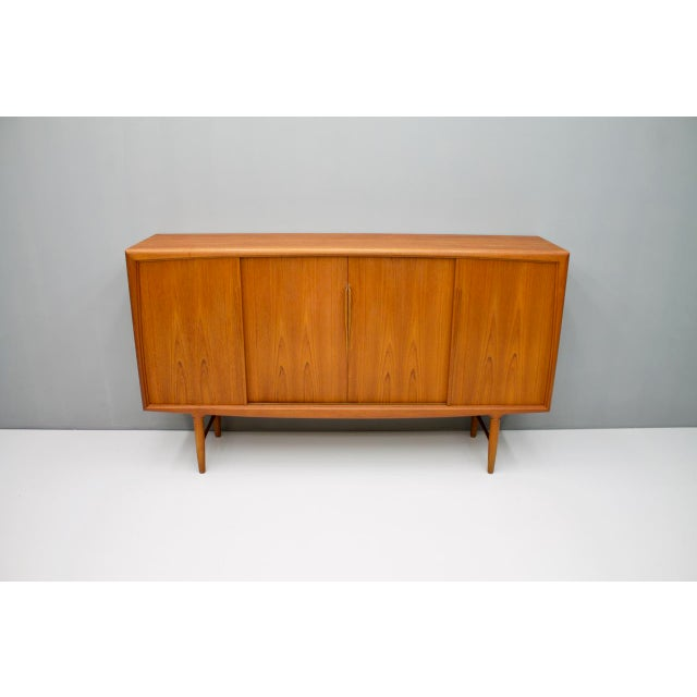 Danish Teak Wood Sideboard by Axel Christensen for Aco Mobler 1960s For Sale - Image 6 of 8