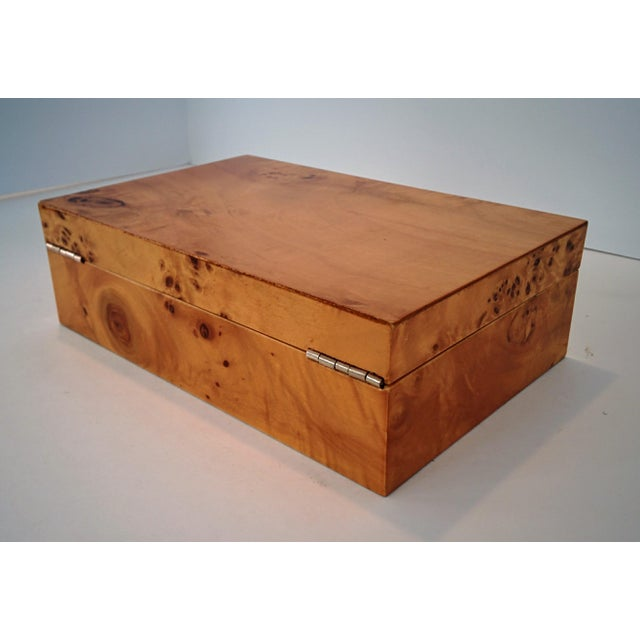 Burl Wood Box - Image 10 of 10