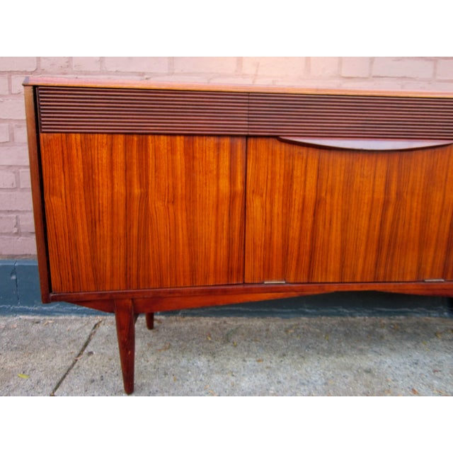 Mid 20th Century Vintage Danish Modern Rosewood Credenza For Sale - Image 5 of 13