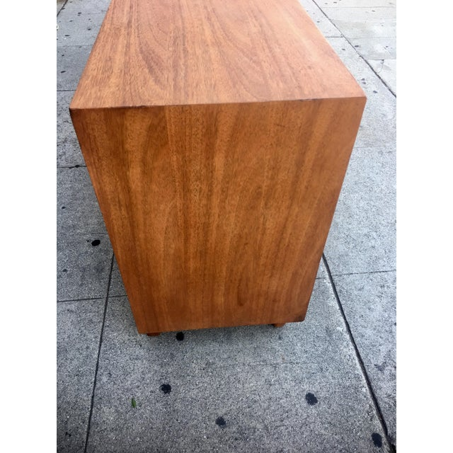 Caning Mid-Century Sculptural Credenza with Cane Details For Sale - Image 7 of 10