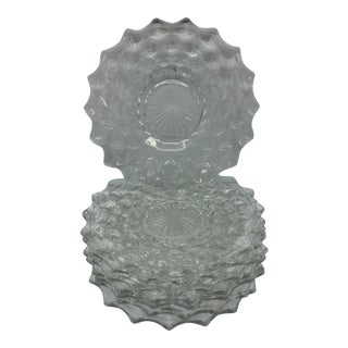 American Clear Fostoria Salad Plates - Set of 8 For Sale