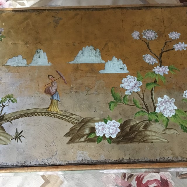 1920's Chinoiserie Coffee Table For Sale In Los Angeles - Image 6 of 9
