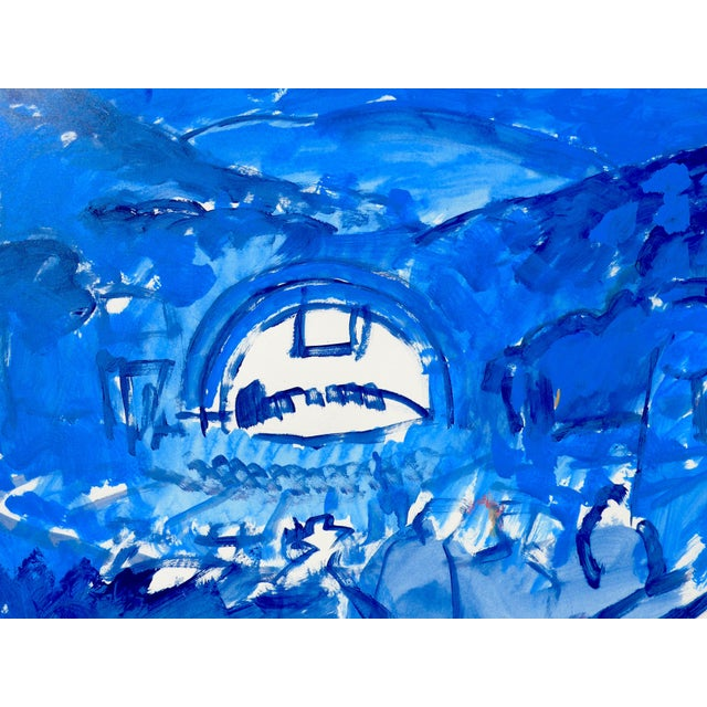 Hollywood Bowl Summer Night Concert Painting - Image 4 of 5