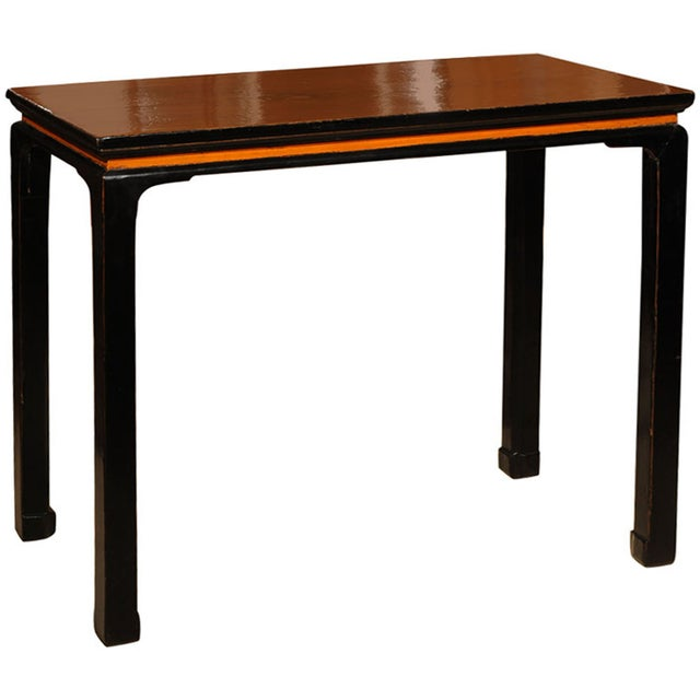 Image of Walnut Console Table