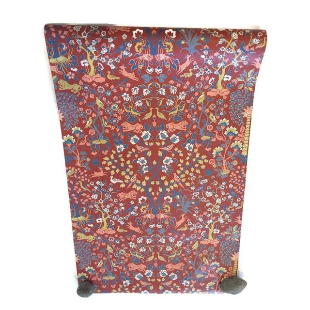 Vintage Iconic Schumacher Persian Style Wallpaper - Image 1 of 7