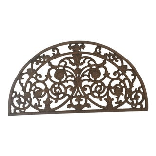 Vintage Cast Iron Wall or Shelf Decor For Sale