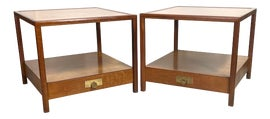 Image of Newly Made Mahogany Side Tables