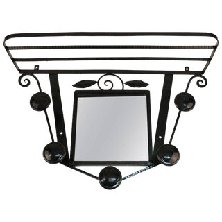 Art Deco French Designer Coat Rack