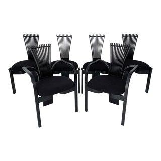 Danish Modern Torstein Nilsen Dining Chairs for Westnofa - Set of 6 For Sale