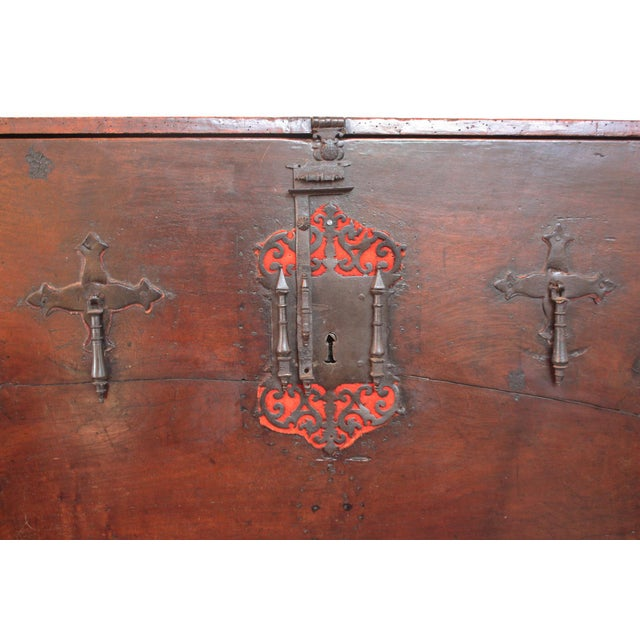 16th Century Rare and Important 16th Century Spanish Vargueno For Sale - Image 5 of 8