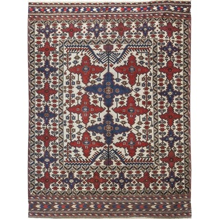 "Traditional Hand Woven Rug - 6'10"" X 9'5"" For Sale"