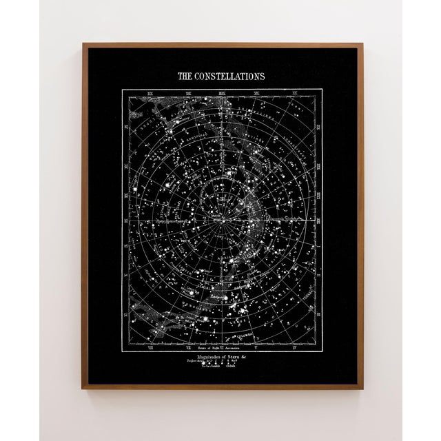 This vintage star is remastered from an original British engraving from 1880 showing the 'magnitude of the Stars'. Lovely...
