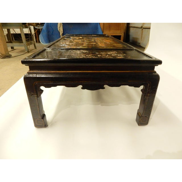 Lacquered Chinoiserie Coffee Table For Sale - Image 10 of 11