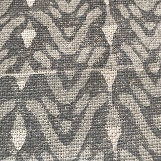 Galbraith & Paul Bellflower Cadet on Bartram Natural Linen Fabric - 8 Yards Preview