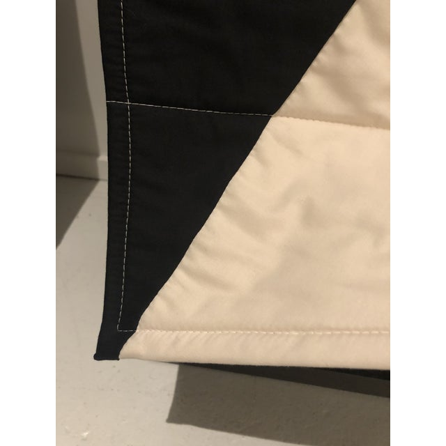 Louise Grey Signature Throw Quilt With Hanger Included For Sale - Image 4 of 6